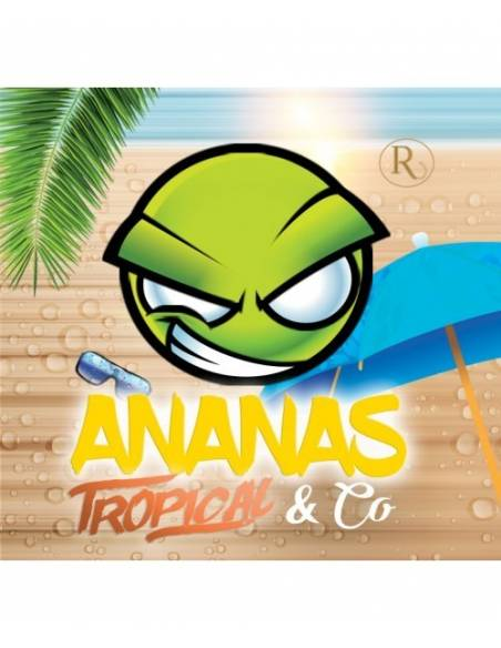 Arôme concentré Ananas Tropical & Co 10ml - EXO - Révolute