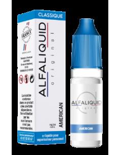 Eliquide American 10ml de la marque française Alfaliquid