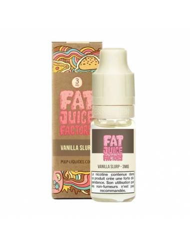 Eliquide Vanilla Slurp 10ml - Fat Juice Factory - Pulp