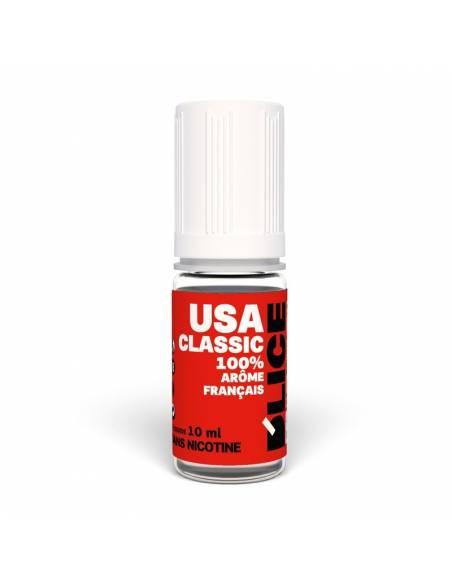Eliquide USA Classic 10ml du fabricant français Dlice