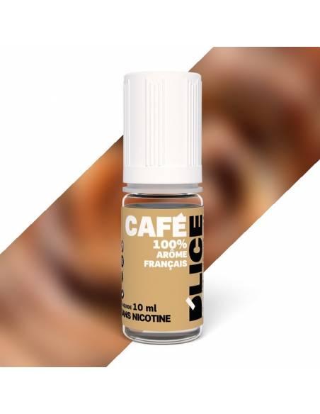 Eliquide Café 10ml du fabricant français Dlice