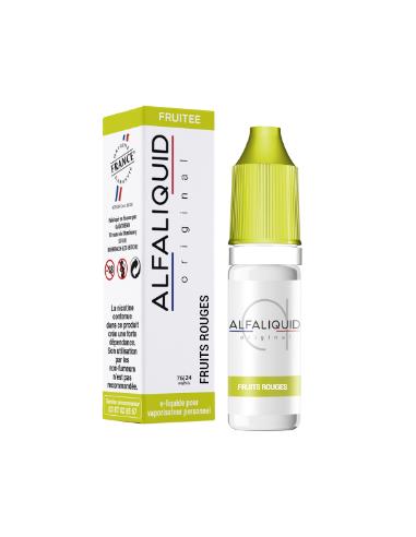 Eliquide Fruits Rouges 10ml de la marque Alfaliquid