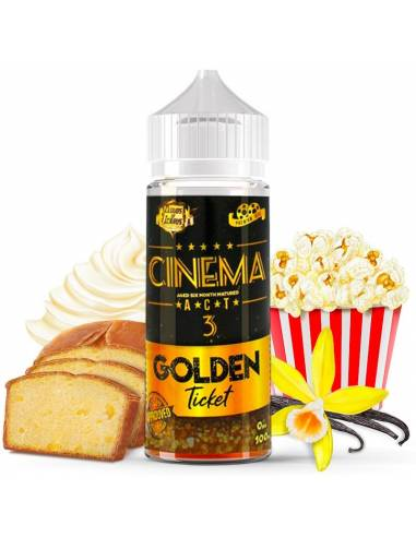 Eliquide Cinema 3 100ml de la célèbre marque Cloud Of Icarus