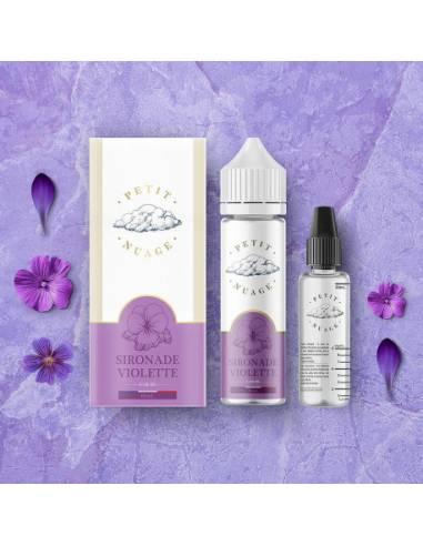 Eliquide Sironade Violette 60ml de la marque Petit Nuage