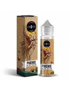 Eliquide Phoenix 50ml de la marque Curieux, gamme Astrale