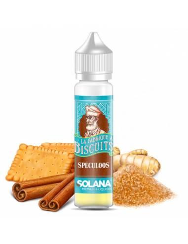 Eliquide Spéculoos 50ml La Fabrique à Biscuits par Solana