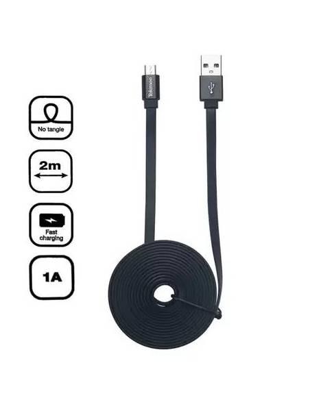 Câble USB vers Micro USB 2m 1A de la marque Tekmee