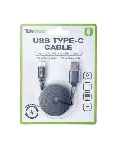 Câble USB vers USB Type-C 1m 2A de la marque Tekmee