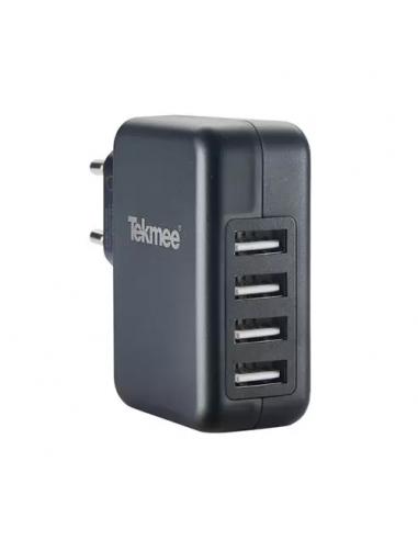 Chargeur Mural 4 Ports USB 4.8A de la marque Tekmee