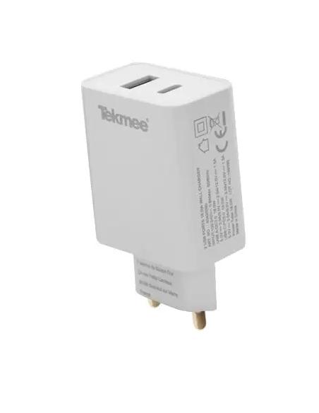 Chargeur mural USB et Type C 3A de la marque Tekmee