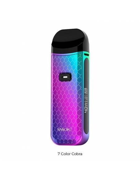 Le Pod Nord 2 couleur 7 color cobra du fabricant mondialement connu Smoktech