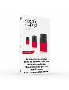 Cartouches Koddo Pod x3 Fruits Rouges par Le French Liquide