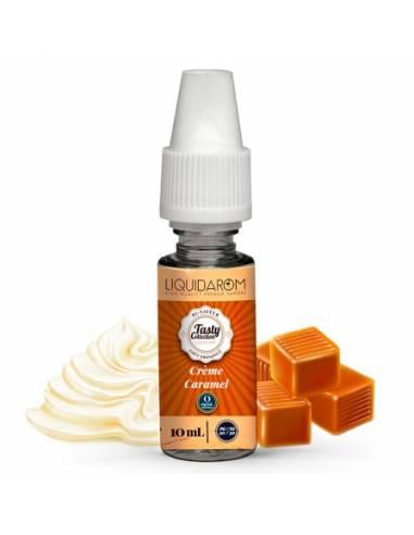 Eliquide Crème Caramel 10ml de la gamme Tasty Collection
