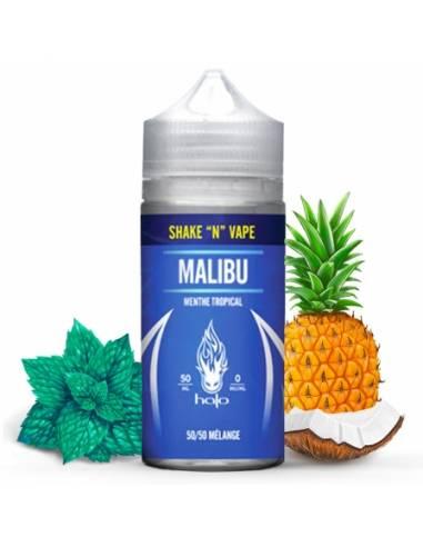 Eliquide Malibu 50ml grand flacon de la célèbre marque Halo