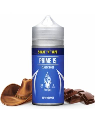 Eliquide Prime 15 50ml grand flacon de la marque Halo