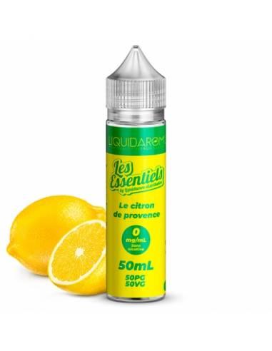 Eliquide Citron de Provence 50ml de la gamme Les Essentiels