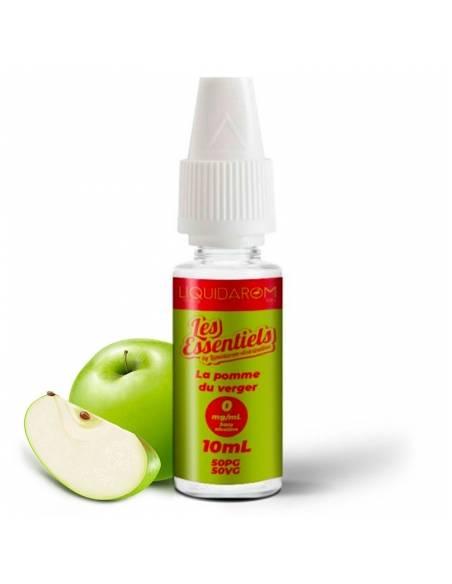 Eliquide Pomme du verger 10ml de la gamme Les Essentiels