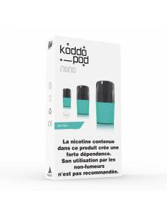 Cartouches Koddo Pod x3 Ice Mint par Le French Liquide
