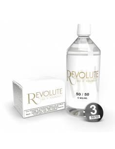 Pack DIY 50/50 1 litre 3mg par le fabricant Revolute
