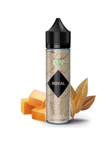 Eliquide Royal 50ml grand format par le fabricant Lovap