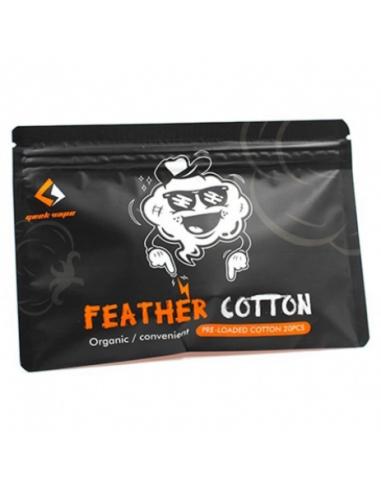 Coton pour atomiseur Feather Cotton de la marque Geek Vape