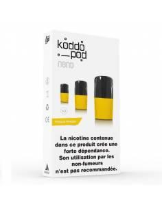 Cartouches Koddo Pod x3 Mangue Ananas par Le French Liquide