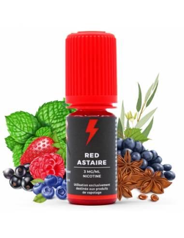Eliquide Red Astaire 10ml de la marque anglaise T Juice