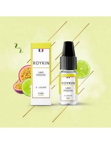 Eliquide Limo Passion 10ml de la marque française Roykin