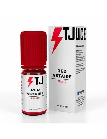 Arôme concentré Red Astaire 10ml de la marque T JUICE