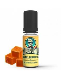 Arôme concentré Caramel Beurre Salé 10ml, marque SuperVape