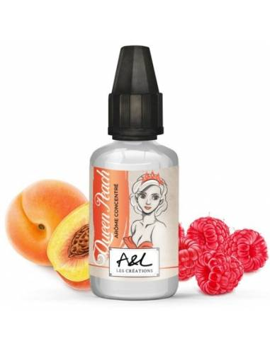 Arôme concentré Queen Peach 30ml, marque Aromes et Liquides