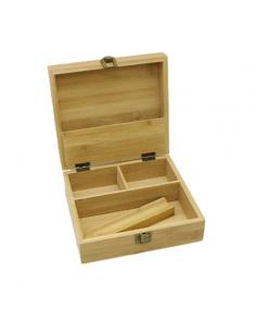 Boite en bois de rangement pour cigarette électronique ou e-liquide