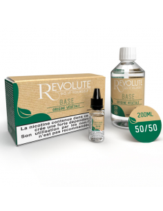 Pack DIY 50PGV/50VG 200ml par le fabricant français Revolute