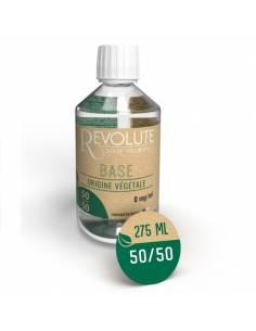 Base végétale 50/50 275ml par le fabricant français Revolute
