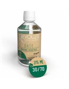Base végétale 30/70 275ml par le fabricant français Revolute