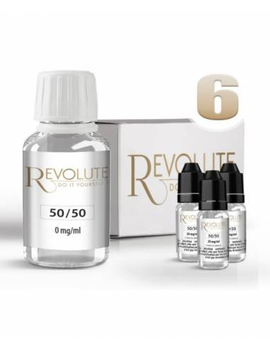 Pack DIY 50/50 6mg Revolute